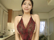 Miho Ichiki amazes with a rare Asian blowjob show.