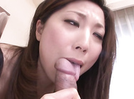 Hot asian milf enjoying hardcore pleasure.