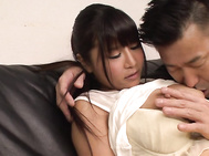 Asian milf in heats rides cock in rough manners.