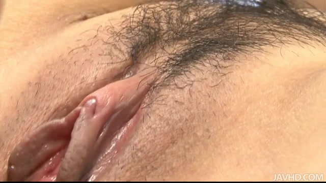 With a very tight pussy that hasn't had that much cock in it because of her age, Huwari is ready to not only take his meat inside of her, but take his cum as well.