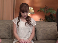 Threesome along hot Japanese milf in heatsAnna Anjo.