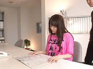 Japanese blow jobs to please nastyYui Uehara.
