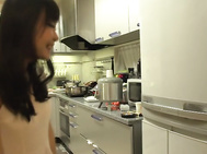 Horny Mayu Kawai is a hot Japanese wife in need for an adventure while her hubby is away.