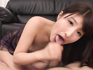 Enjoy slim doll smacking her shaved Asian pussy in great manner, moaning and stretching it wide with her fingers to pose that pink vag getting wet anmd juicy.