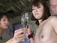Her MILF pussy has never cum like this before, and after Tomoka Sakurai is done fucking these two guys, she's going to get a hot jizz load shot inside of her like she's never had before! A threesome is what brings her the most pleasure, and the most cream