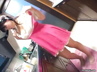 Asian housewife gets naughty in the kitchen. 3