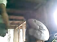 Indonesian couple fucking inside a hut. 3