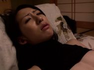 Hitomi has been lonely lately, and fantasizing about being with to men at once, so she suggests it to her man, and he agrees to get her fucked by two hard cocks.