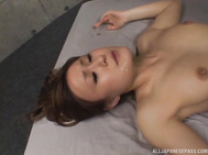 She gets plenty of cock to suck, and uses her blowjob talents in this hot gangbang.