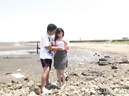 Awesome Sexy Ki Hanyuu hot Asian chick enjoys it outdoors Video Online.