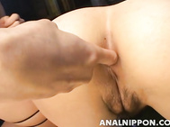 Emiri Sena, Haruna and Yuki Ohki gets pleasure of Asian anal sex.