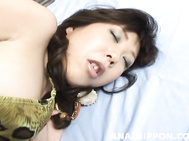 Kinky milf Ren Asano shows off her talents in Japanese anal sex scenes.