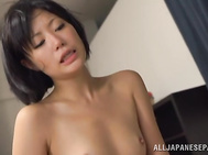 Horny chick is more than eager to suck the guy dry in the end of her naughty femdom adventure.