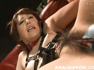 Delicious Japanese AV hottie Nagisa Uematsu gets tied and teased incredibly hard by her experienced sex partner.
