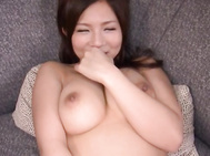 Konatsu Aozora is a busty Japanese doll who enjoys getting her hairy pussy licked and fingered.
