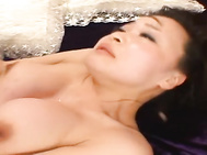 He knows she likes to feel his tongue in her hot hole! She is taking on two guys for a double blowjob and they are likeing her slurping at their hard cocks! Yuu Haruka is certainly getting her fill of cock!.