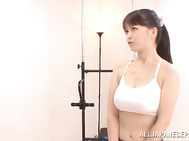 Sporty girl Anna Natsuki loves stunning fucking a lot.