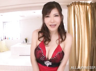 Amateur Anri Okita gets nasty in harsh POV show.