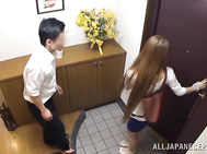 Amateur japanese with big tits fucking hard and neat.