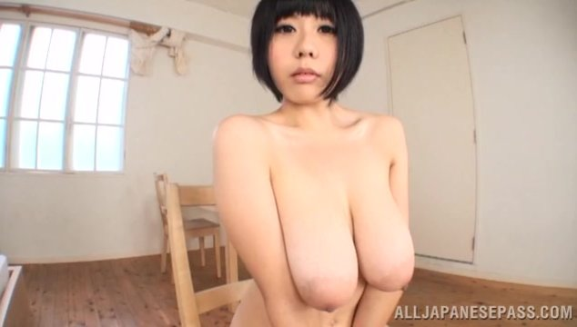 Sakura Mano sweetest Japanese tits action with pov.