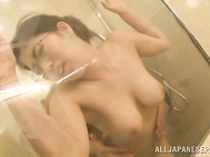 The excited hottie gets fingered and gives her partner a hot blowjob, and then she bends to enjoy deep penetration.