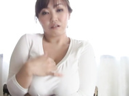 Oiled Up Big Titted Mature Nana Megumi Gives A Blowjob.