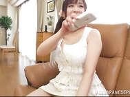 Gorgeous mature Asian Nana Aoyama, gets her huge tits licked.