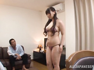 Sexy mature lady with lovely figure Sayuki Kanno enjoys group sex.