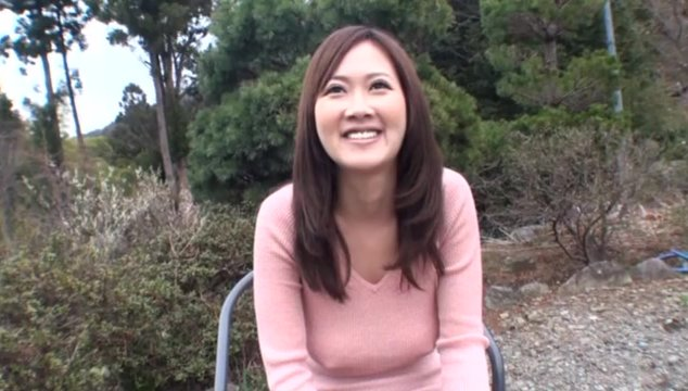 Big titted Sayuki Kanno gets fucked in a camper.