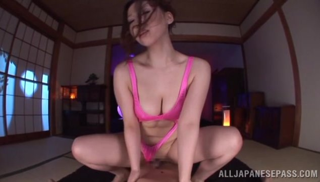 The delicious cutie has breathtaking bubble boobs and amazing peachy ass.