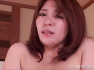 Milf with huge boobs Mizuki Ann enjoys hard sex.