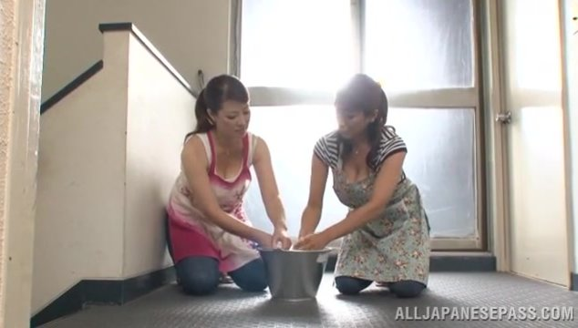 Kinky busty Japanese mature chicks are driven by hardcore fun.