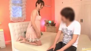 Tsubasa Amami gets covered in loads of cum!.