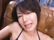 Sexy Shiho participates in wild gangbang with no limits.