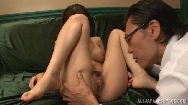 Never did big tits Japanese hottie, Arisa Misato, had such steamy pleasures when having sex with this guy.