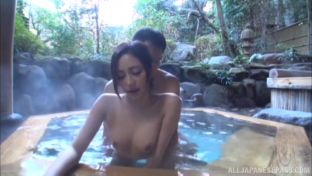 They kiss each other, and the hottie gives the guy a perfect blow job, and then gets her pussy hammered from behind, and they both really enjoy this sex experience.