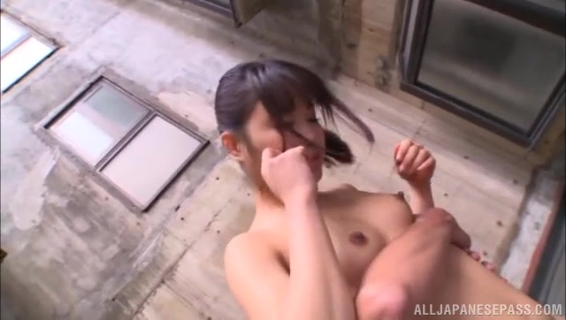 She enjoys stand fucking and spreads her legs wide for deeper penetration, and then engulfs the cock of her boyfriend, sucking it perfectly.