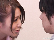 Gorgeous fuck with steamy Japanese teen Mona Takei in heat.