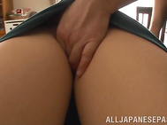 Her hubby likes to tease her and to drink her milk, as a little babe, and he squeezes her jugs and pinches her nips hard till she bursts out with some milk, and then the horny dude licks her pussy and fucks her horny mouth extremely hard.