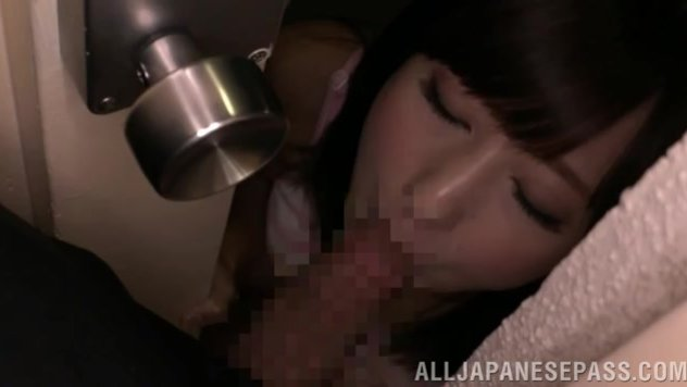 Lovely Japanese girl Mao Hamasaki comes to have some fun with her boyfriend.