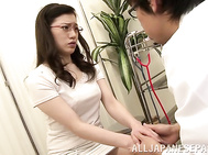 Horny wife gets nailed by horny male doctor.
