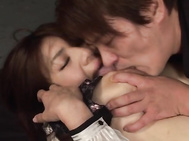 Ichiki Ayaka is a hot Asian milf with big tits that her guy enjoys when she is lactating.