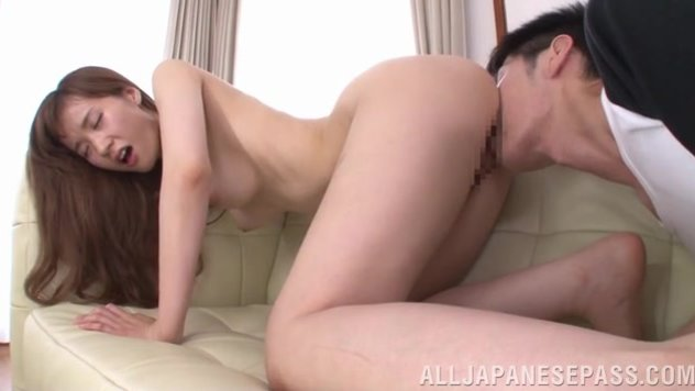 He comes to her flat, and she starts to play with his cock, making the guy hot, and then takes off her clothing, exposing her juicy body parts and stays in a doggystyle, showing off her lovely pussy, and then gets her head and pussy banged properly.