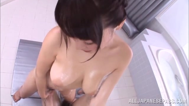 Japanese smoking hot chick Mao Hamasaki gets nude exposing her very hot body.