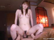 She enjoys the way her masseur is rubbing every inch of her body.