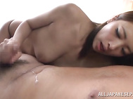 Luscious fascinating sassy milf Miyu Kotohara has that sexy dress that makes this lad want to rip of and shag her immediately.