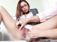 Watch her making out with the guy in sexy foreplay; letting him remove her panties and lick her pussy before mind blowing scenes of pussy pounding, all in hardcore action.