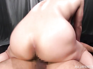 She gets her bubble tits squeezed, and her head fucked in a hardcore way.