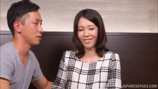 Petite Japanese doll gets picked up fron the street and seduced in having sex with this lad while taped.