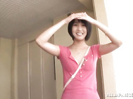 Playful Japanese girl in a short skirt Riku Minato pleases her boyfriend.